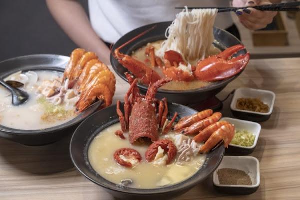 台中海鮮美食 粥堂|用波士頓龍蝦熬煮的極品海鮮粥,鮮甜海味在嘴裡堆疊