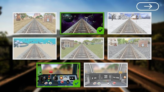 [Train Driving 3D Simulator] Screenshot 9