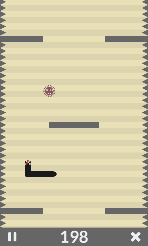 Snake Runner: Crazy Fruit Rush- screenshot
