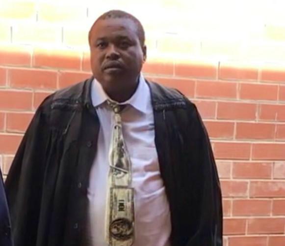 Lawyer Zwelonke Ngwenya who represented alleged rhino 'kingpin' Dumisani Gwala in the Mtubatuba Magistrate's court on Wednesday