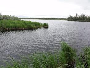 Photo: Впереди маленькое озерцо.