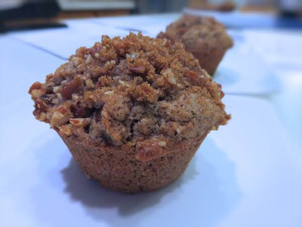Coffee Walnut Muffins Recipe