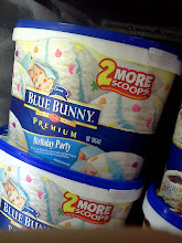 Photo: Birthday party ice cream...that's a cute idea.