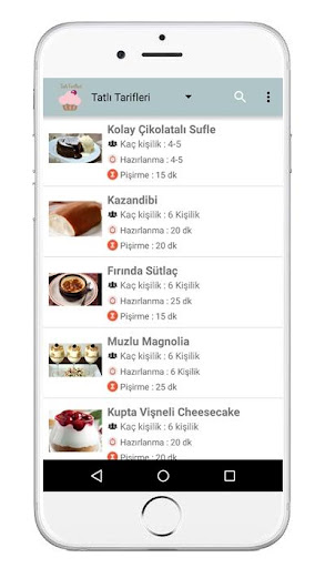 Dessert recipes  screenshots 1
