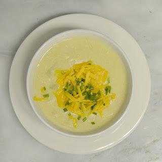 Potato Leek Soup with Chicken