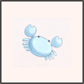 蟹座のヘアピン