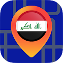 🔎Maps of Iraq: Offline Maps Without Internet icon