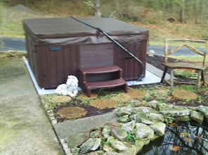 Photo: This is a great product! We were able to go ahead and setup our hot tub in a temporary location until our deck gets built and then we will use it on the deck. Thanks.  Jerry S., from Knoxville Tn