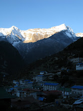 Photo: morning in Namche