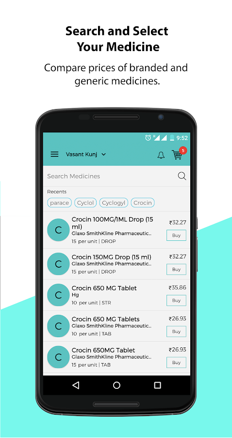 Medzin - Delivering Wellness- screenshot