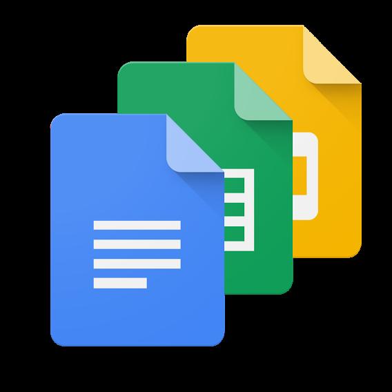 Google Docs editors logos