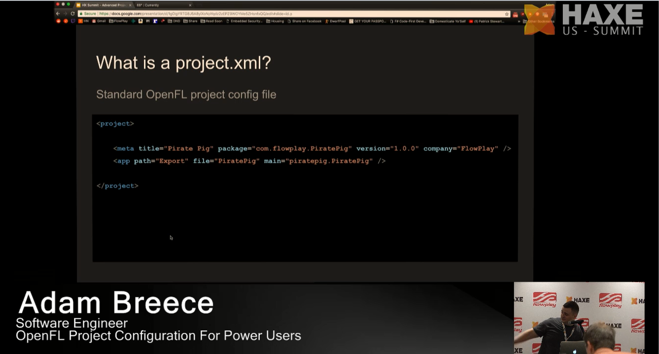 What is a project.xml