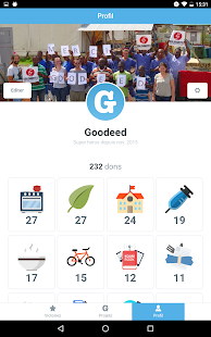 Goodeed - le don gratuit Capture d'écran