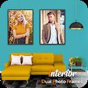 Interior Dual Photo Frames icon