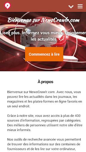 NewsCrawlr France - Actualités