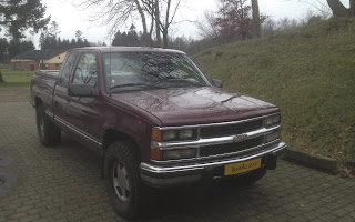Chevrolet Silverado K1500 Rent Midtjylland
