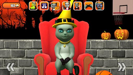 Talking Cat Leo Halloween Fun 2.0 screenshots 2