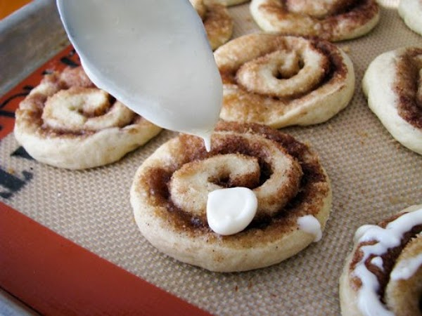 To prepare frosting, beat the cream cheese until softened and smooth, slowly add powdered...