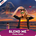 Blend Effect Collage Free : Snack Photo Editor icon