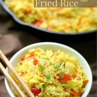 Gluten-Free Pineapple Fried Rice (Allergy-Free, Vegan).
