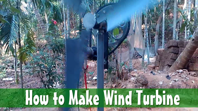 DIY Horizontal Axis Wind Turbine | How it Works?