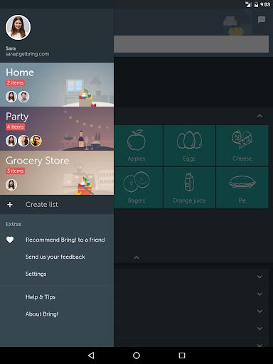 Bring! Grocery Shopping List 3.51.0 screenshots 9