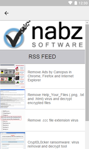 android Nabz Software Screenshot 2