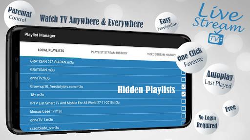 Livestream TV - M3U Stream Player IPTV Hack, Cheats & Hints | cheat