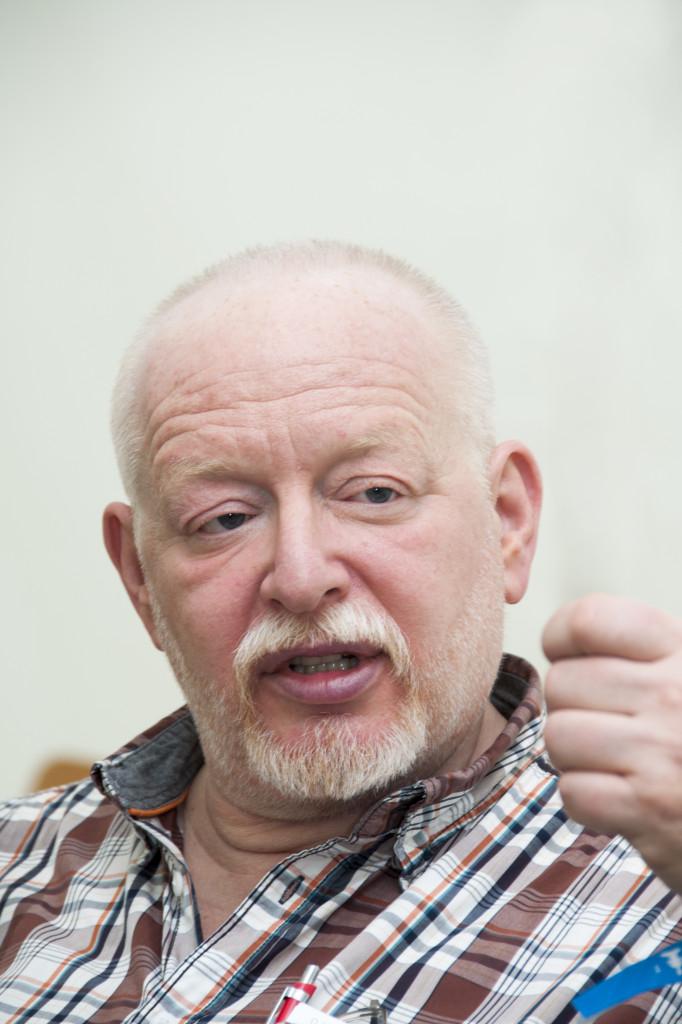 Haas György a Válás és Újászületés csoport egyik alapítója