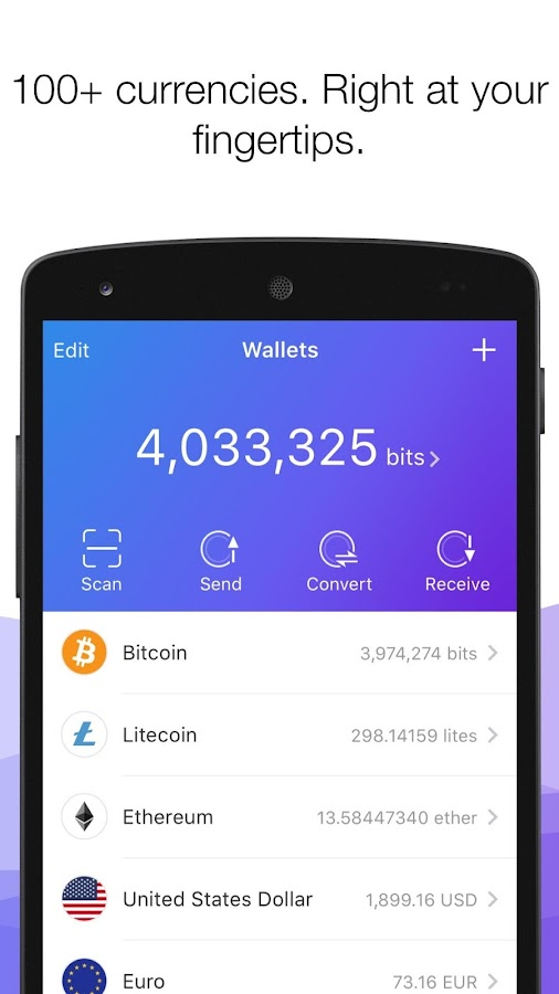 Mobi - Global Bitcoin Wallet- screenshot