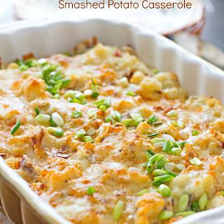 Sour Cream and Onion Smashed Potato Casserole Recipe