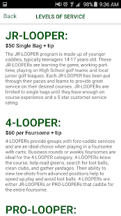 Looper - Caddies on Demand- screenshot thumbnail