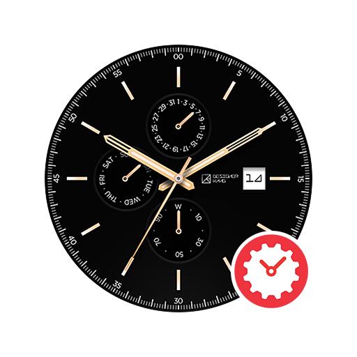 BlackTie watchface by DesignerKang