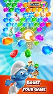 Smurfs Bubble Shooter Story 2
