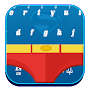 Superman keyboard themes APK icon