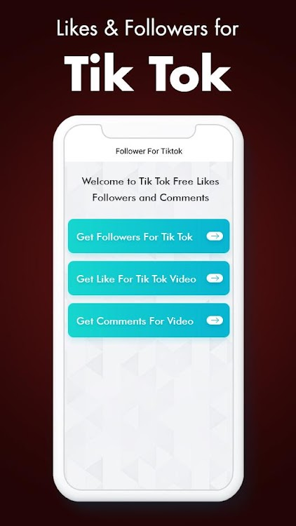 Followers & Likes for Tik Tok - Boostik – (Android Apps) — AppAgg