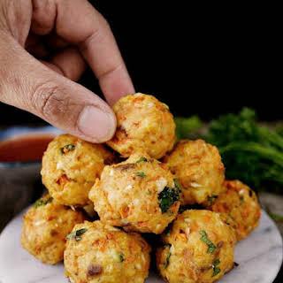 Salmon Meatballs.