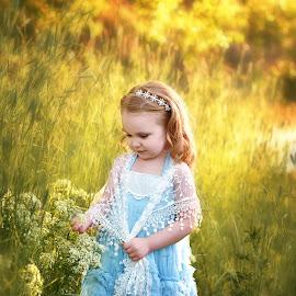 Princess Phoenix by Nicole Ferris - Babies & Children Toddlers ( dress, outdoors, children, little girl, fairytale, princess )