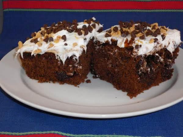 Carmel Fudge Cake- I Make Mine A Little