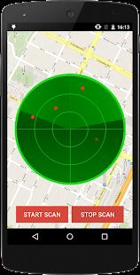 Policejní radar simulátor - náhled
