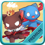 Cats King Premium - Battle Dog Wars: RPG Summoner Icon