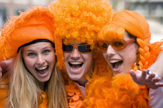 Photo: dutch queensday orange folklore mayhem