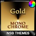 MonoChrome Gold for Xperia icon