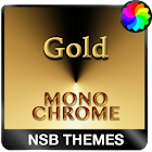 MonoChrome Gold for Xperia icon