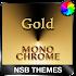 MonoChrome Gold for Xperia 1.7.6