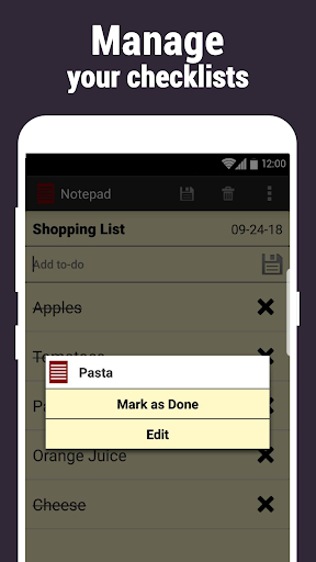 Screenshot for Notepad in United States Play Store