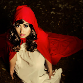 Red Riding hood by Anz Defensor - People Fashion ( red, people, portrait )