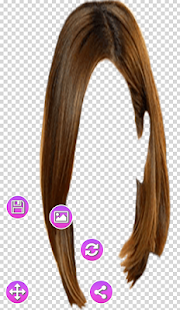 Photo Frame Hairstyles Changer - náhled