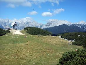 Photo: pogled na Kamnisko sedlo i Branu