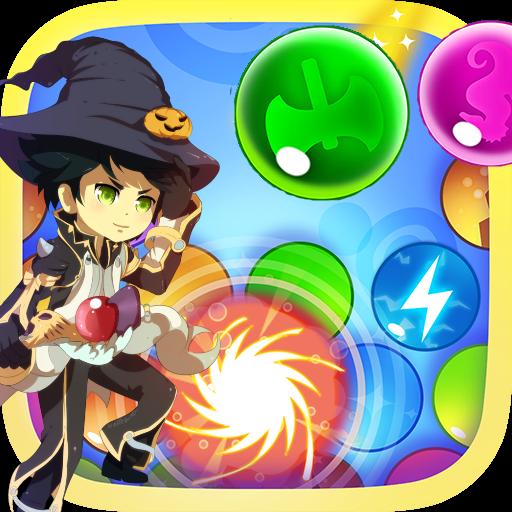 休闲のバブル ウォーロック LOGO-記事Game